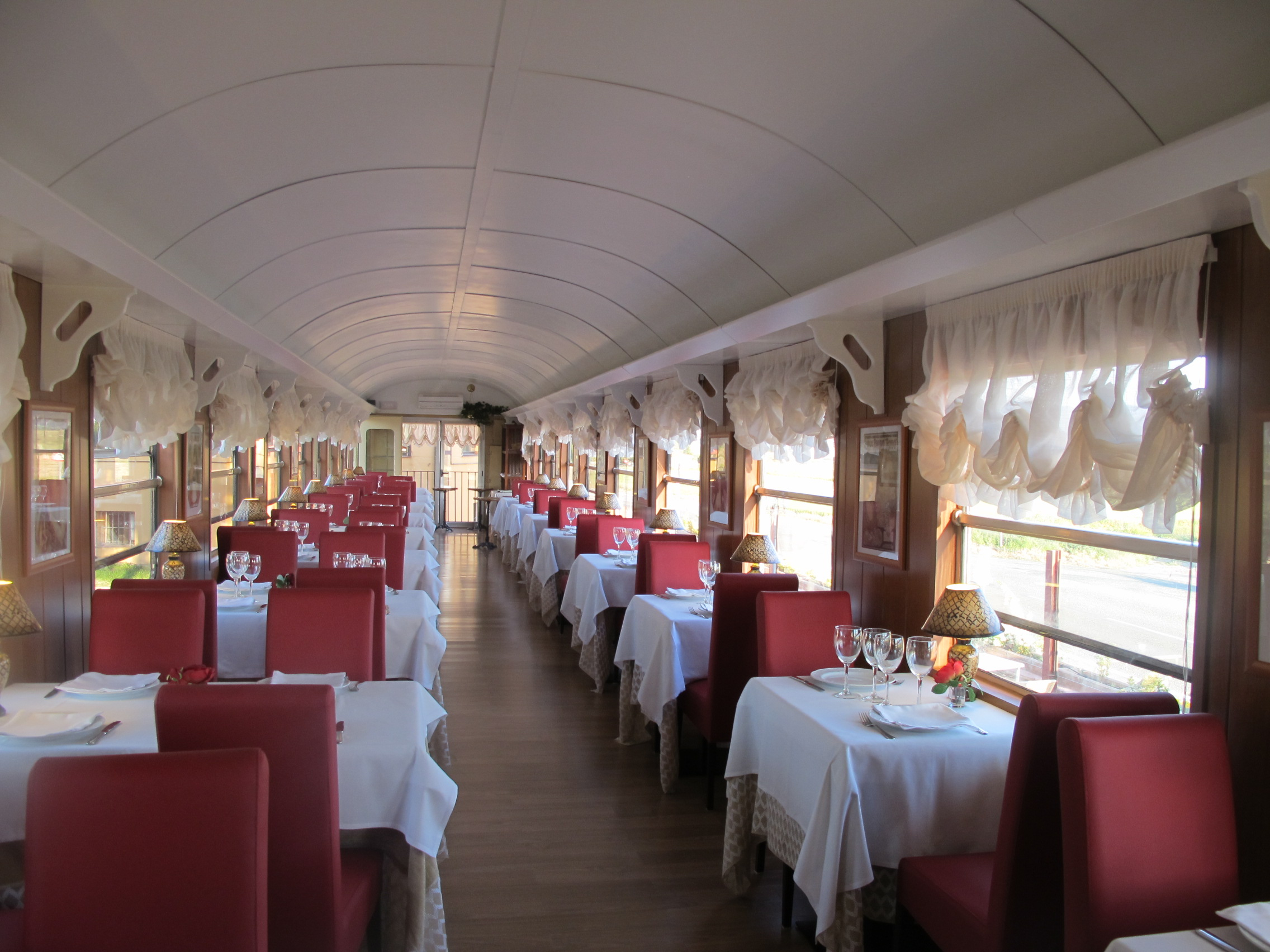 Vagón restaurante