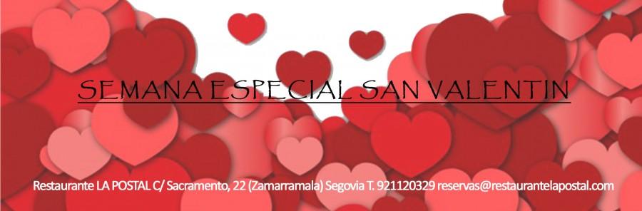 Semana especial San Valentín